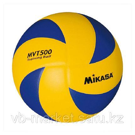 Утяжеленный волейбольный мяч MIKASA MVT500, фото 2