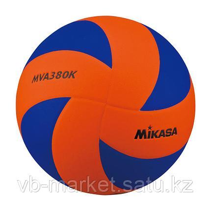 Волейбольный мяч MIKASA MVA 380 K-OBL, фото 2