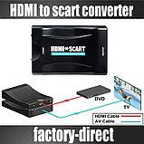 Конвертер (Переходник) HDMI В SCART, фото 2