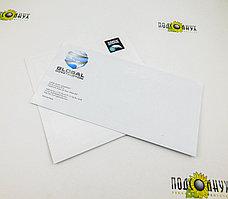 Печать на конвертах в Алматы А4-формат, 4+0