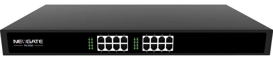 Yeastar TA1600 VoIP-шлюз NeoGate TA1600, 16*FXS