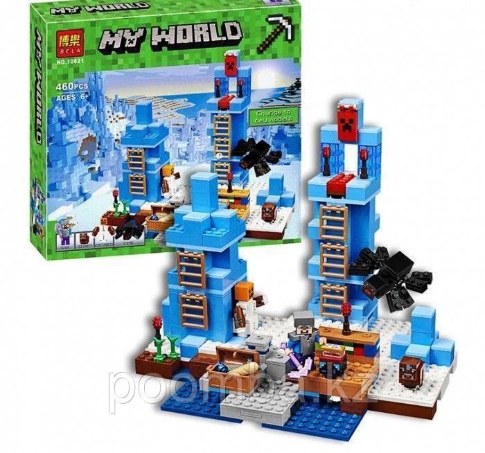Конструктор Minecraft  Ледяные шипы 460 дет