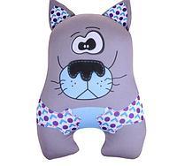 """Мягкая игрушка-антистресс """"Волк с ушами"""".  12 см × 21 см × 32 см"""