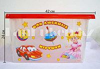 Ящик для игрушек с рисунком 30 л. 48102 (003)