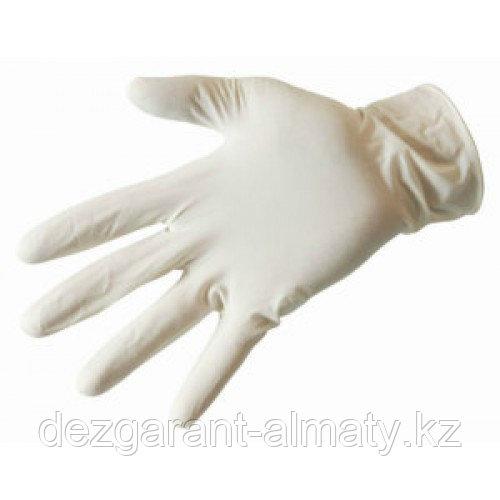 Перчатки одноразовые латексные