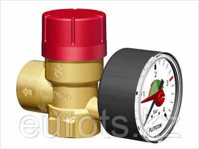 Предохранительные клапаны с манометром
