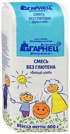 Безглютеновые продукты ТМ Гарнец Россия