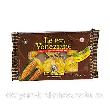 Макароны из кукурузной муки Fettucce (Феттуччини) Le Veneziane без глютена 250г.
