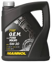 Моторное масло MANNOL O.E.M. for Ford Volvo 5W30 5 литров