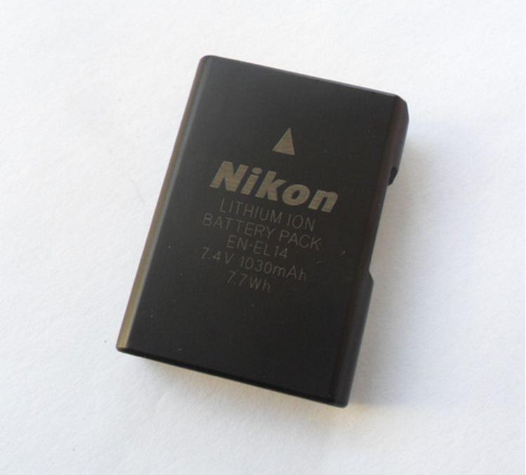 Аккумуляторы EN-EL14 на Nikon D600 D610 D750 D800 D800E D810 D3100 D3200 D7000