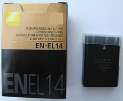 Аккумуляторы EN-EL14 на Nikon D600 D610 D750 D800 D800E D810 D3100 D3200 D7000, фото 3