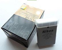Аккумуляторы EN-EL14A на Nikon D3200 D3100 D5300 P7100 P7700 P7800, фото 3