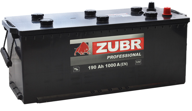 Аккумулятор ZUBR Profissional CT-190 для грузовых машин