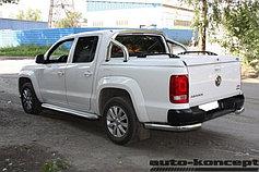 Пороги, подножки, силовые пороги Volkswagen Amarok 09-15/16+