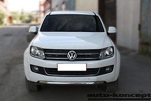 Защита передняя короткая D 60,3 Volkswagen  Amarok 2010-2016