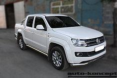 Обвес, защита бамперов, порогов из нержавеющей стали Volkswagen Amarok 2009-2015/2016-