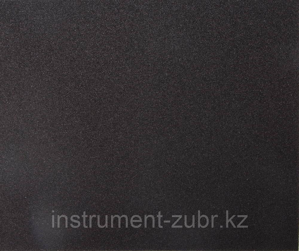 """Лист шлифовальный универсальный STAYER """"MASTER"""" на тканевой основе, водостойкий 230х280мм, Р60, упаковка по 5шт"""