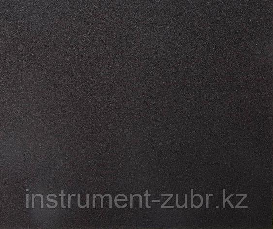 """Лист шлифовальный универсальный STAYER """"MASTER"""" на тканевой основе, водостойкий 230х280мм, Р60, упаковка по 5шт                                       , фото 2"""