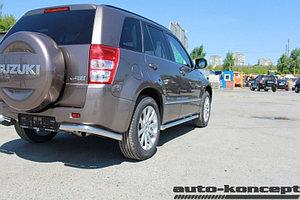 Пороги труба D 60,3 Suzuki Grand Vitara 2012-