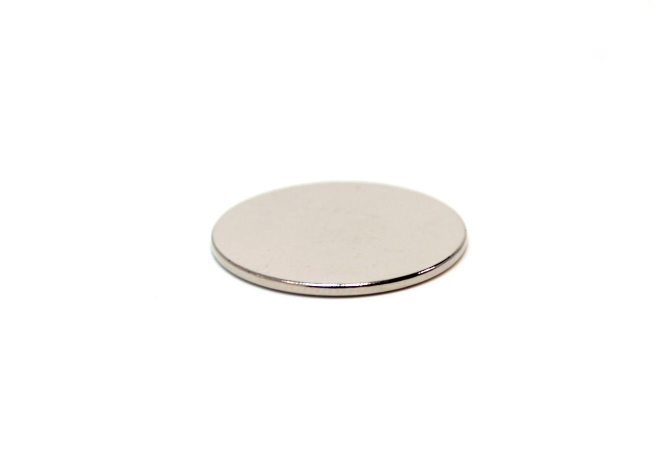 Магнит неодимовый D10x0,5mm