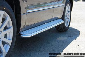 Пороги с площадкой D 50,8 Suzuki Grand Vitara 2012-