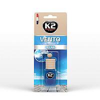 """Ароматизатор K2 """"VENTO"""" флакон с деревянной крышкой океан"""