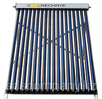 Солнечный водонагреватель с объемом бака 400 л, с двумя теплообменниками, 48 трубок, сплит-система, фото 1