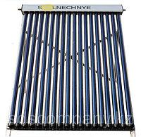 Солнечный водонагреватель с объемом бака 200 л, с двумя теплообменниками, 24 трубки, сплит-система