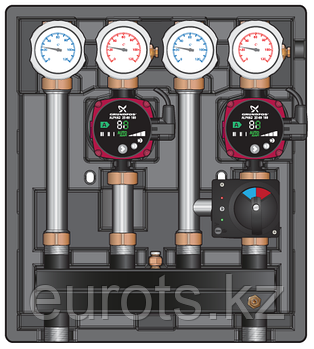 KOMBIMIX. Насосно-смесительные модули до 40 квт. Модификация UK/MK-STM