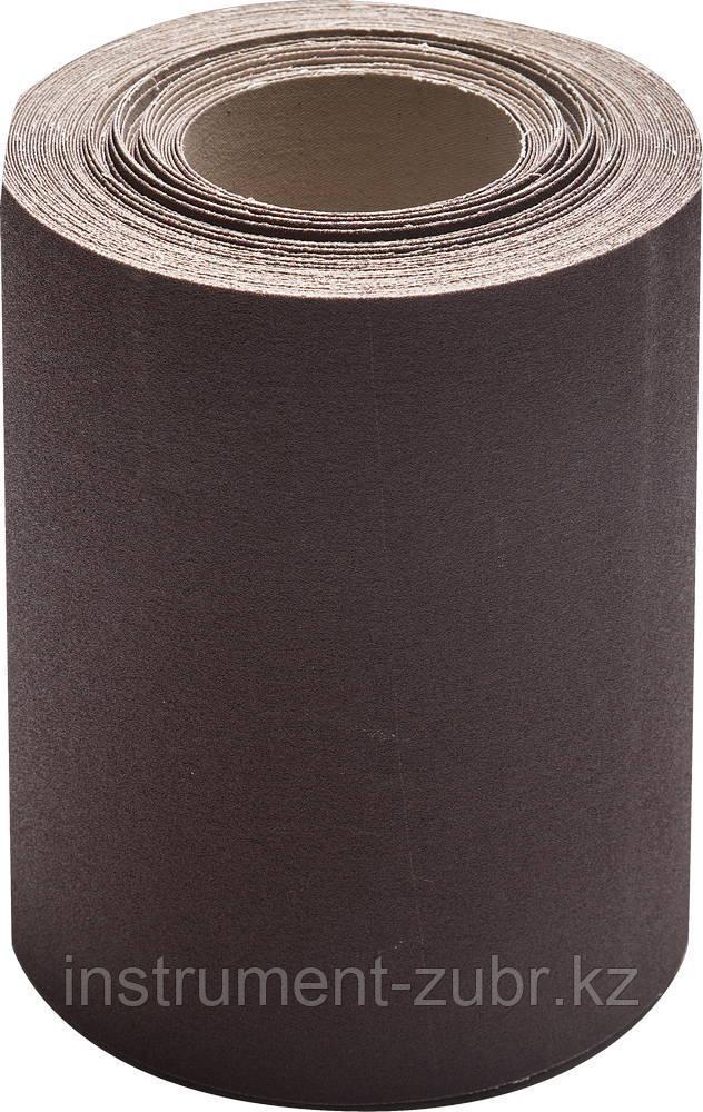 KK18XW 12-H (Р100), 200 мм рулон шлифовальный, на тканевой основе, водостойкий, 20 м, БАЗ