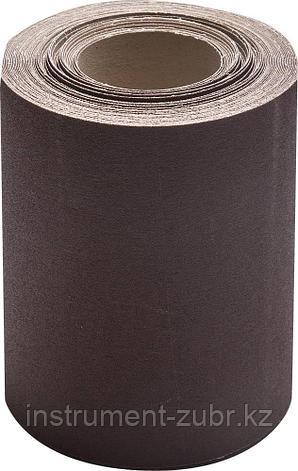 KK18XW 12-H (Р100), 200 мм рулон шлифовальный, на тканевой основе, водостойкий, 20 м, БАЗ, фото 2