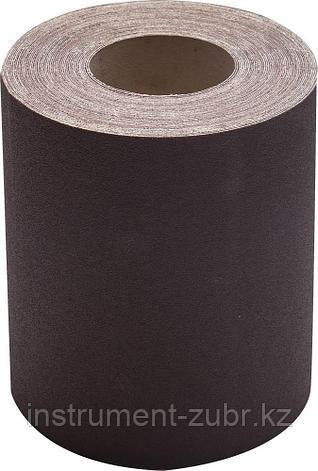 KK18XW 16-H (Р80), 200 мм рулон шлифовальный, на тканевой основе, водостойкий, 20 м, БАЗ, фото 2