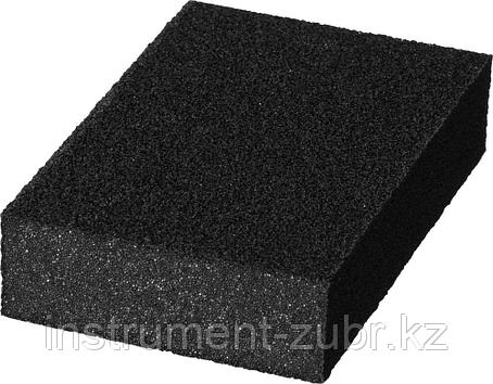 """Губка шлифовальная STAYER """"MASTER"""" четырехсторонняя, зерно - оксид алюминия, Р120; 100 x 68 x 26 мм., фото 2"""