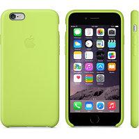 Силиконовый чехол для iPhone 6 plus/6s plus (зеленый)