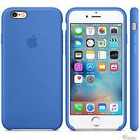 Силиконовый чехол для iPhone 6 plus/6s plus (синий)