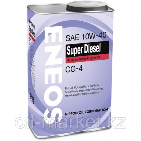 Моторное масло ENEOS SUPER DIESEL 10w-40 semi-synthetic 0,94 л, фото 2