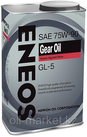 Трансмиссионное масло ENEOS GEAR OIL GL-5 75W90 0,94 л, фото 2