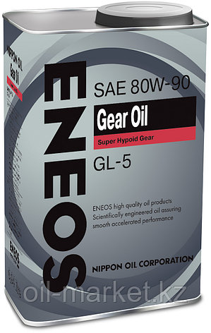 Трансмиссионное масло ENEOS GEAR OIL GL-5 80W90 0,94 л, фото 2