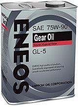Трансмиссионное масло ENEOS GEAR OIL GL-5 75W90 4 л