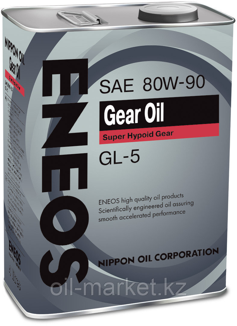 Трансмиссионное масло ENEOS GEAR OIL GL-5 80W90 4 л