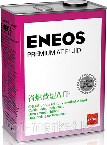 Масло для АКПП ENEOS Premium AT Fluid 4 л., фото 2
