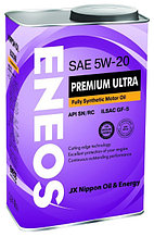 Моторное масло ENEOS PREMIUM ULTRA 5w-20 Synthetic (100%) 4 л