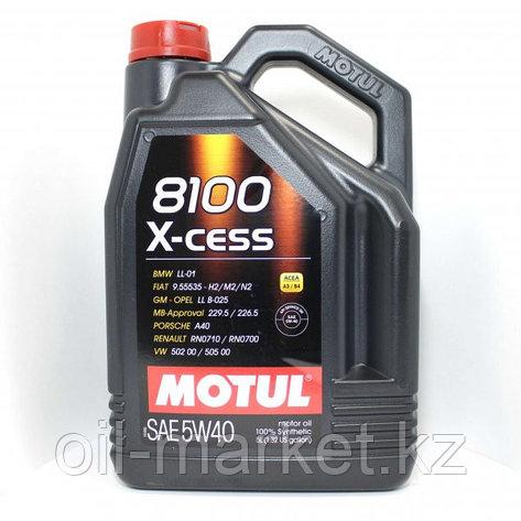 Моторное масло MOTUL 8100 X-cess 5W-40 5л, фото 2