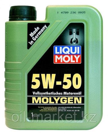 Моторное масло LIQUI MOLY MOLYGEN 5W50 1 L, фото 2