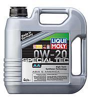 Моторное масло LIQUI MOLY SPECIAL ТЕС АА 0W20 4L