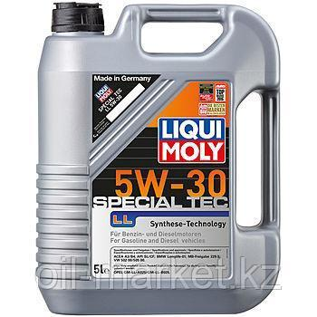 Моторное масло LIQUI MOLY SPECIAL TEC LL SAE 5W-30 5L, фото 2