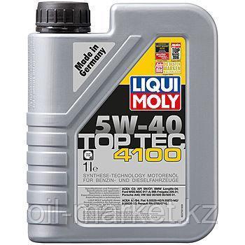 Моторное масло LIQUI MOLY TOP TEC 4100 5W40 1л, фото 2