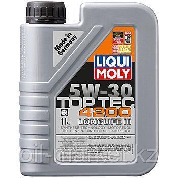 Моторное масло LIQUI MOLY ТОР ТЕС 4200 5W30 1л, фото 2