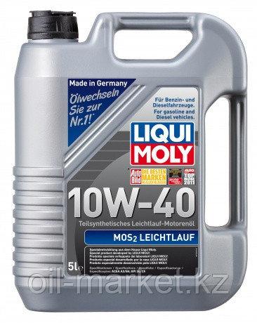 Моторное масло LIQUI MOLY MOS2-LEICHTLAUF 10W40 5л