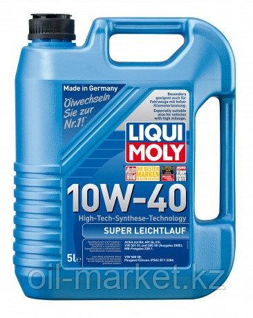 Моторное масло LIQUI MOLY SUPER LEICHTLAUF 10W40 5L